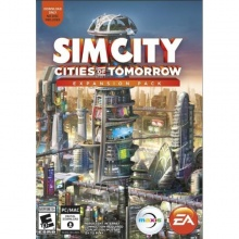 模擬城市5 未來城市套裝 資料片  SimCity Cities of Tomorrow Expansion Pack EA Origin 序號卡