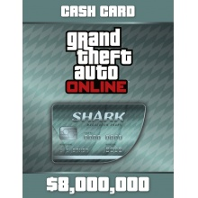 俠盜獵車手5 遊戲幣 8,000,000  序號卡 Grand Theft Auto Online: Megalodon Shark Card - 8,000,000