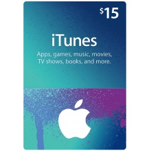 USD15 Apple iTunes Gift Card 禮物卡 US