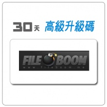 FileBoom 30天 升級碼 FileBoom Premium Voucher Code  30 Day